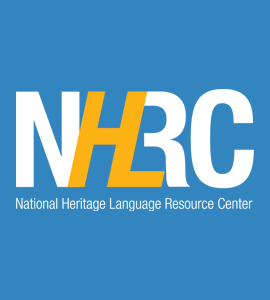 National Heritage Language Resource Center logo